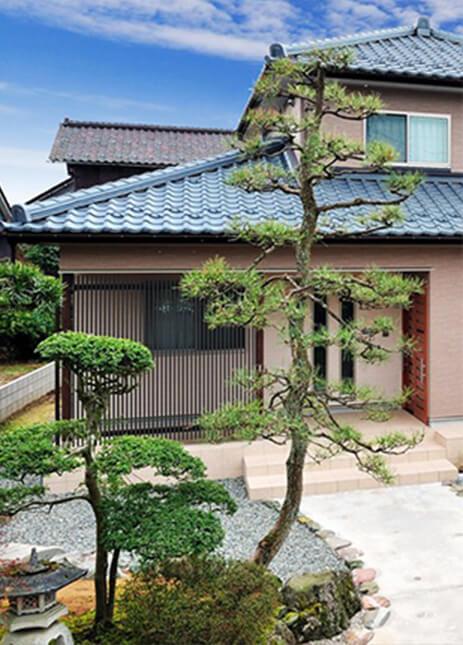 リーフハウス施工事例 和風な住宅