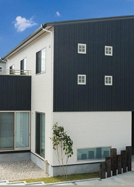 リーフハウス施工事例 モダンな住宅