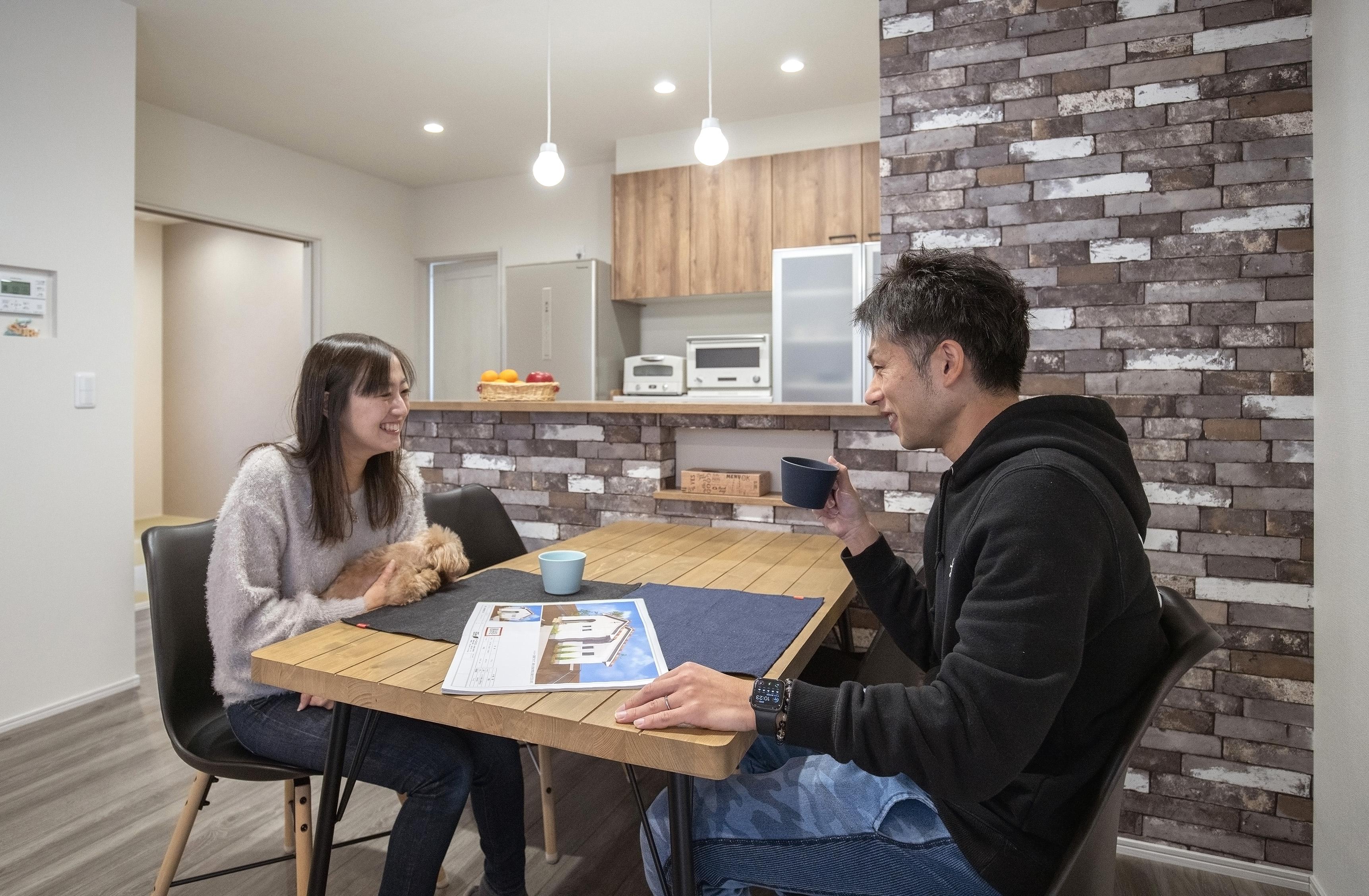 生活導線にこだわったカフェスタイルの平屋住宅 生活イメージ