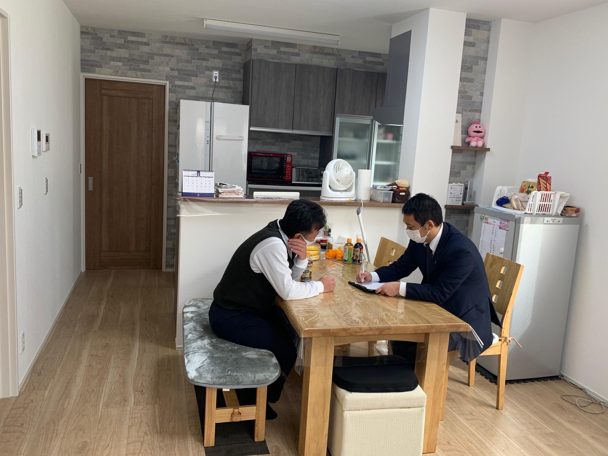 """3世帯の """" 和 """"が繋がる、和室のある家。 打合せ風景"""